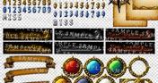 RPG Maker MV - Krachware User Interface Material