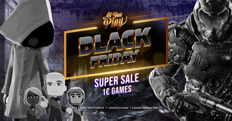 Allyouplay - Black Friday Super Sale