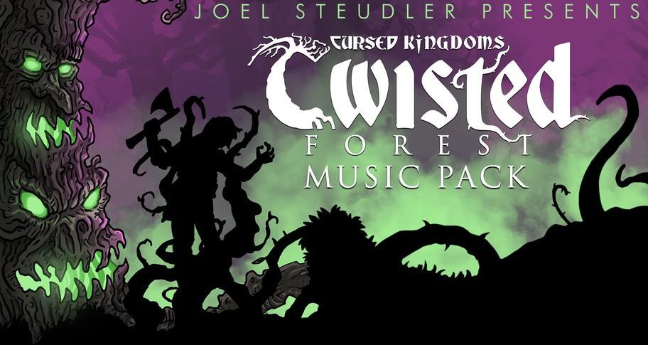 RPG Maker MV - Cursed Kingdoms - Twisted Forest Music Pack