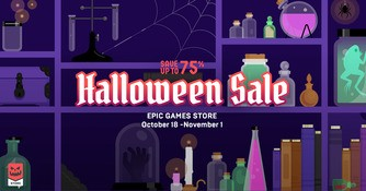 Epic Games Store Halloween Sale 2021