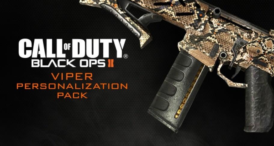 Call of Duty: Black Ops II - Viper Personalization Pack