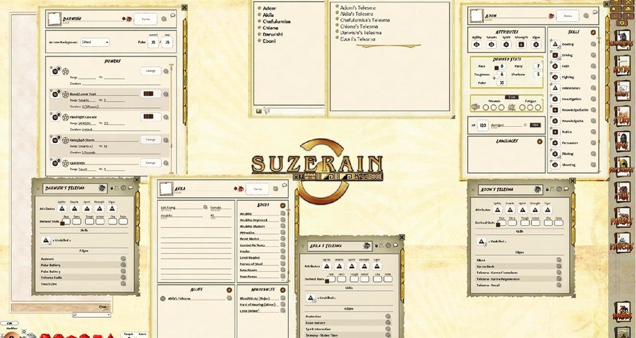 Fantasy Grounds - Set Rising Intro Pack (Savage Worlds)