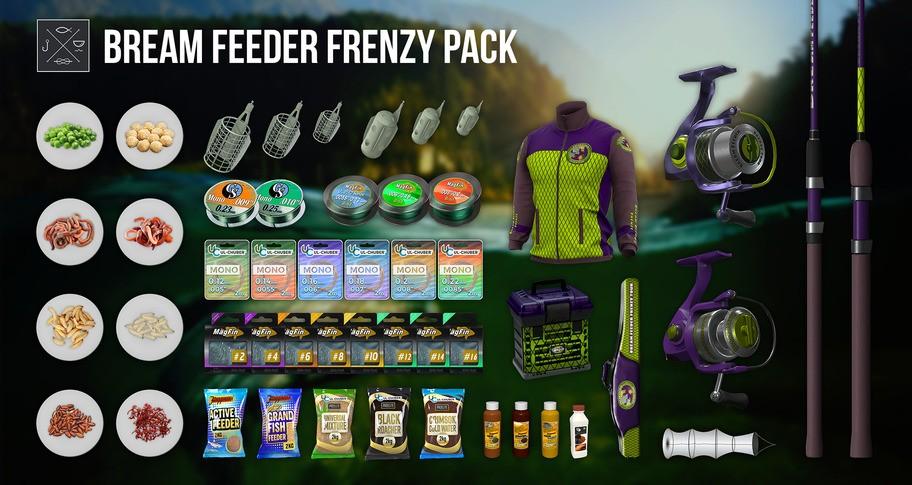 Fishing Planet: Bream Feeder Frenzy Pack