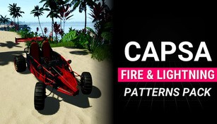 Capsa - Fire & Lightning Patterns Pack