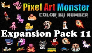 Pixel Art Monster - Expansion Pack 11