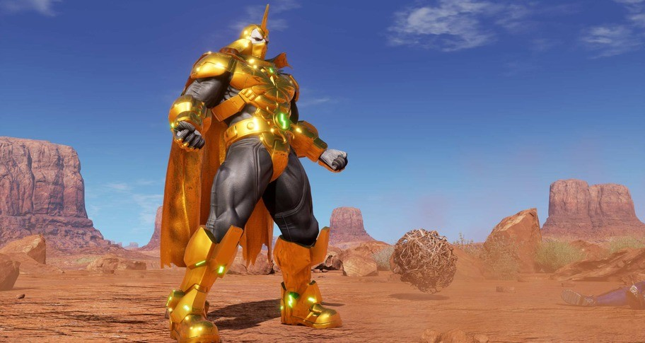 FIGHTING EX LAYER - Color Gold/Silver: Shadow