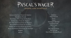 Pascal's Wager Original Game Soundtrack