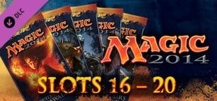 Magic 2014 Sealed Slot 16-20