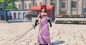 """FAIRY TAIL: Erza's Costume """"Dress-Up"""""""