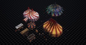 Realm Engine Horror Circus Asset Pack