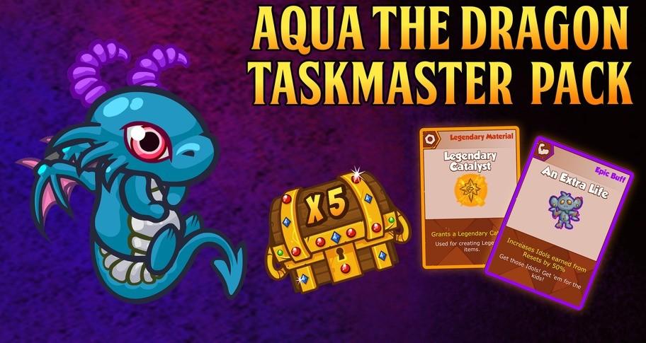Crusaders of the Lost Idols: Aqua the Dragon Taskmaster Pack