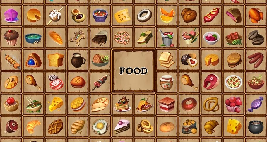 Memory Battle - Food Pack