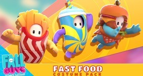 Fall Guys - Fast Food Costume Pack