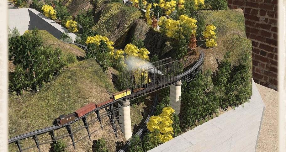 Trainz 2019 DLC - Cilie Oldphartz Railroad