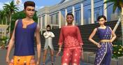 The Sims 4 Fashion Street Kit