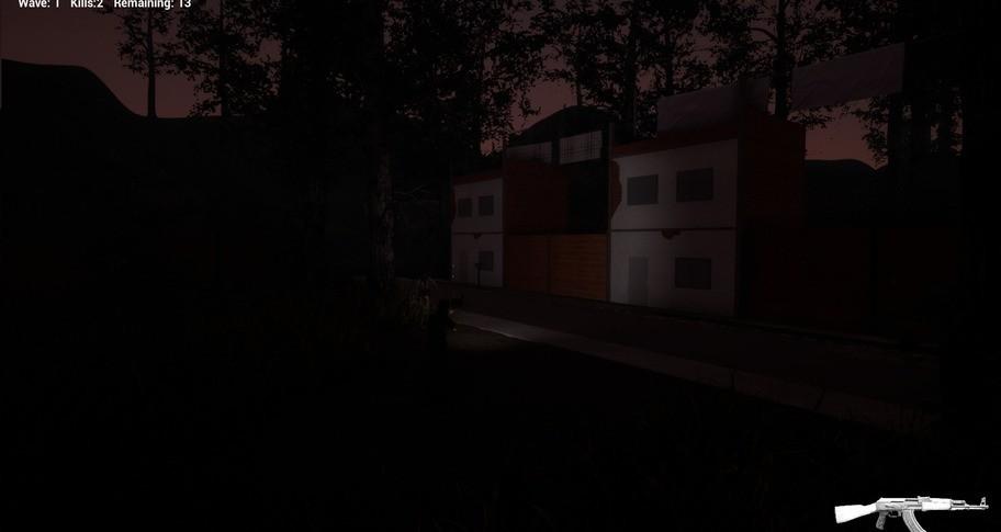 Soldier in the darkness - Survive