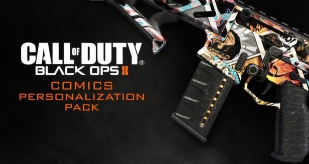 Call of Duty: Black Ops II - Comics Personalization Pack