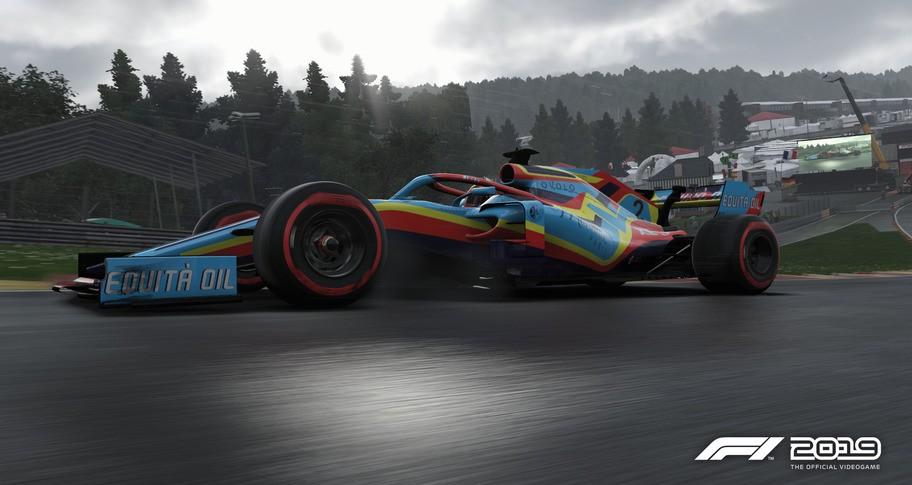 F1 2019: Car Livery 'Monnaie - Fête'