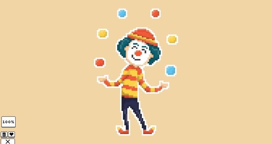 Coloring Pixels - Amusement Park Pack