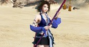 DFF NT: Songstress's Garb Appearance Set & 5th Weapon for Yuna