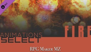 RPG Maker MZ - Animations Select - Fire