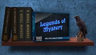 1001 Jigsaw. Legends of Mystery