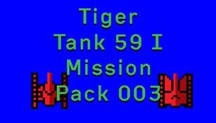Tiger Tank 59 Ⅰ Mission Pack 003