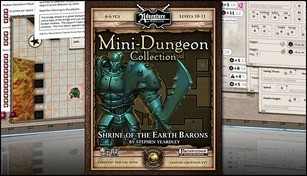 Fantasy Grounds - Mini-Dungeon #003: Shrine of the Earth Barons (PFRPG)