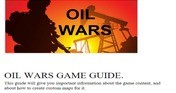 Oil Wars - Supporter Pack