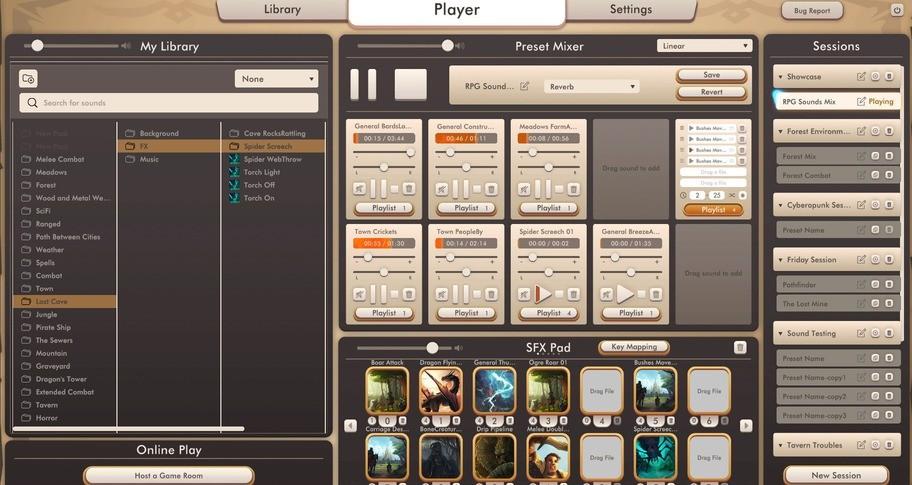 RPG Sounds - Frost Lands - Sound Pack
