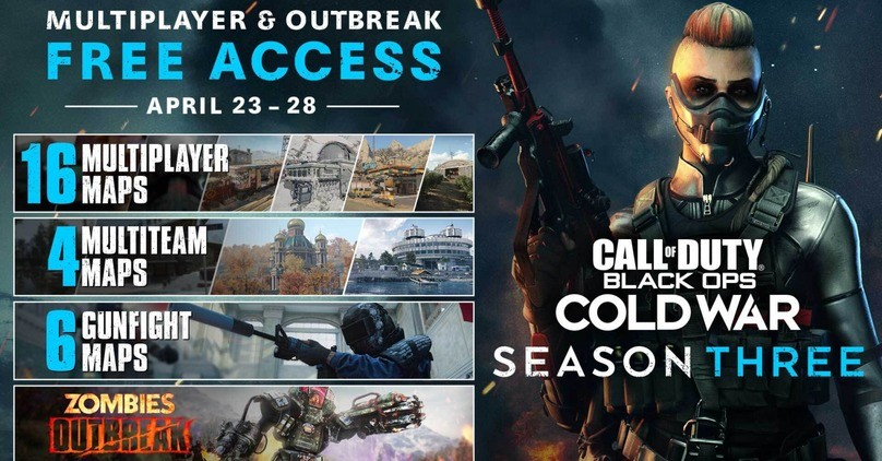 Free Access - Call of Duty: Black Ops Cold War Multiplayer & Outbreak