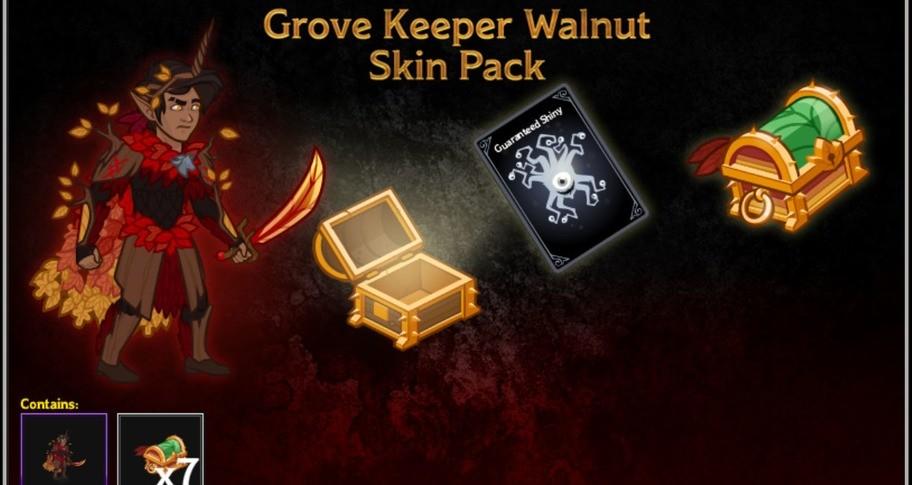 Grove Keeper Walnut Skin Pack