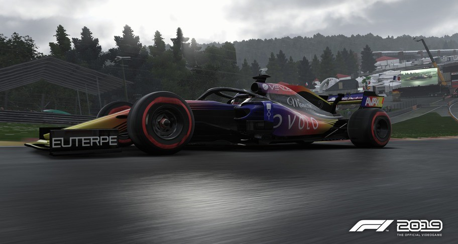 F1 2019: Car Livery 'OVOLO - Blur'