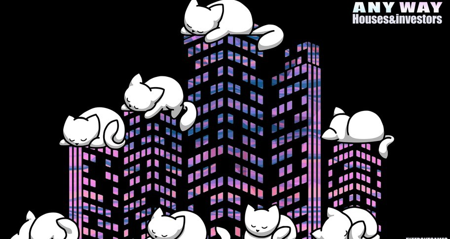 """AnyWay! - """"White kitten"""" Stickers Pack"""