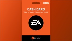 EA Origin Cash Card 60 PLN
