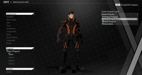 "DAEMON X MACHINA - Outer Suit - ""Camouflage Plugsuit"""