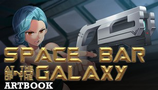Space Bar at the End of the Galaxy Artbook