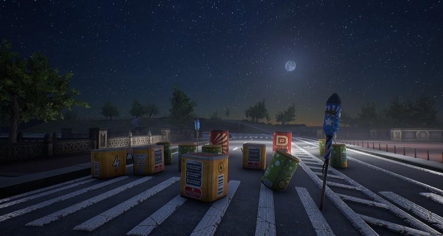 Fireworks Simulator: Realistic