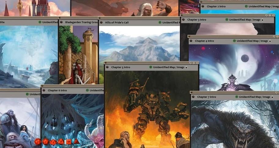 Fantasy Grounds - D&D Explorer's Guide to Wildemount