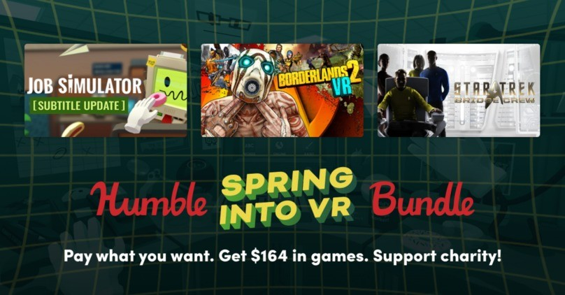 Humble Spring Into VR Bundle