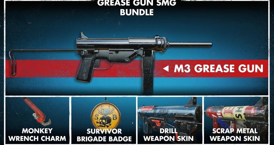 Zombie Army 4: Grease Gun SMG Bundle