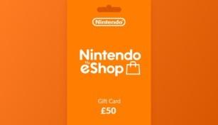 Nintendo eShop Gift Card 50 GBP