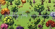 RPG Maker MZ - Painterly Trees Asset Pack