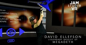 Jam Studio VR EHC - David Ellefson Metal Factory