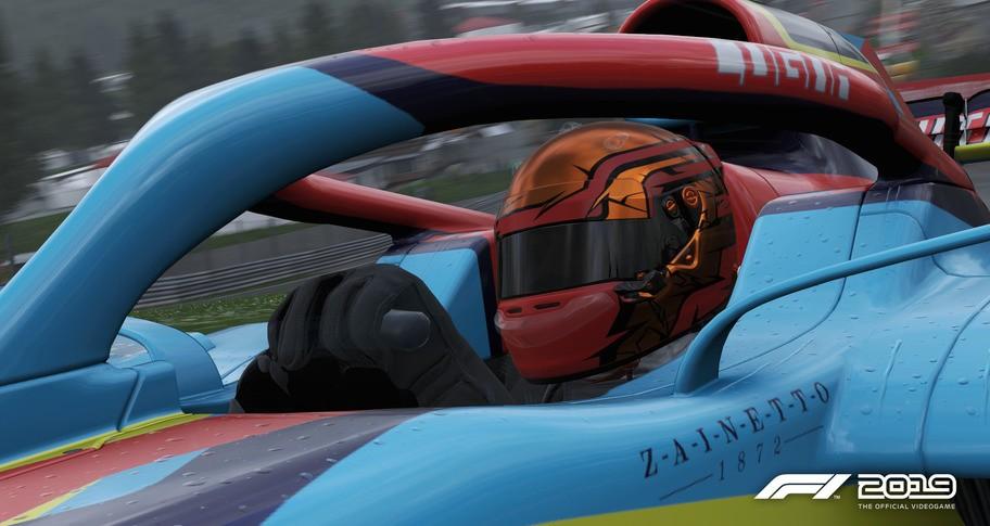 F1 2019: Helmet 'Spikes'