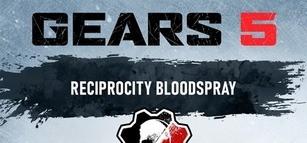 Gears 5 - Reciprocity Coloured Blood Spray