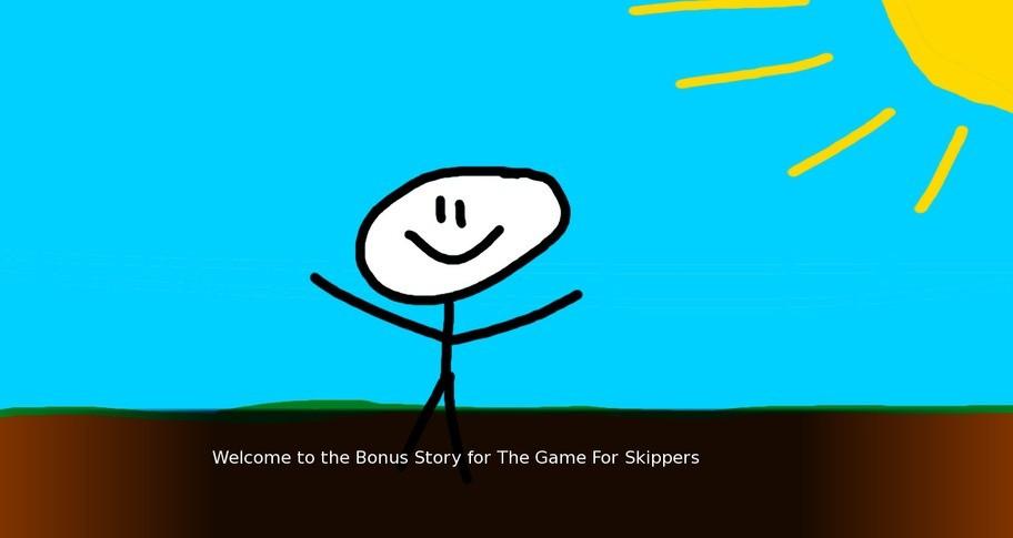 The Game For Skippers - Bonus Story